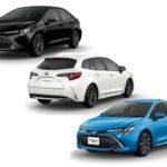 トヨタ・新型カローラの種類と価格を詳しく解説