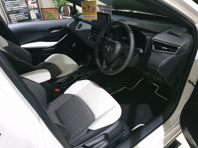 新型カローラ フロントシート